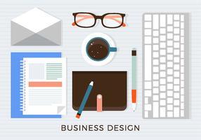 Fond d'écran du Business Workshop gratuit vecteur