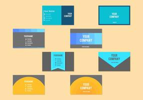 Modèle de carte de visite professionnelle de visite gratuite