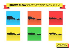 Snow Plough Free Vector Pack Vol. 4