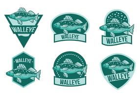 Vecteur libre d'icônes de Walleye