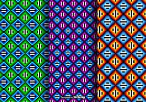 Free Colored Huichol Vector Patterns