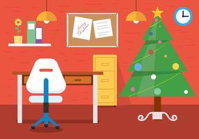 Bureau vectoriel christmas gratuit