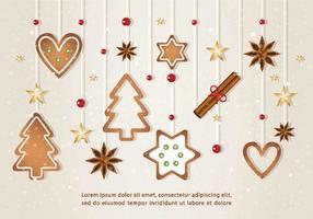 Éléments vectoriels de Noël vecteur