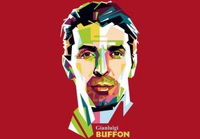 Gianluigi buffon - wpap vecteur