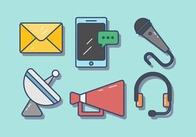 Vecteur de communication gratuit