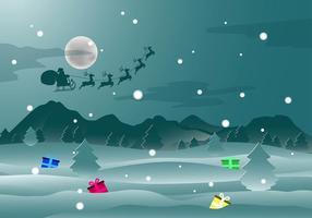 Christmas backround vecteur gratuit