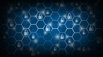 sécurité de la cyber technologie, fond de protection du réseau