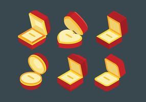 Vecteur libre icône icône boîte