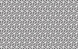 motif géométrique de cube noir et blanc sans soudure vecteur