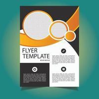 modèle de flyer commercial look créatif