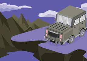 Illustration Jeep gratuite vecteur
