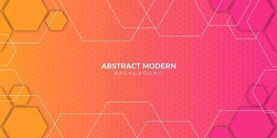 conception de dégradé de fond géométrique abstrait coloré
