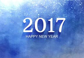 Vector Free New Year 2017 Background