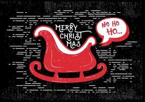 Vector de carte de voeux de Noël