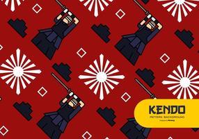 Contexte de Kendo vecteur