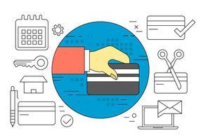 Icônes vectorielles de paiement