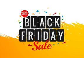 conception de modèle de bannière de vente de vacances vendredi noir