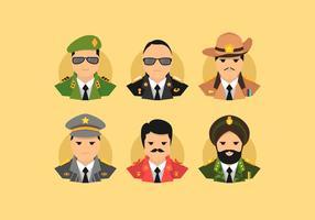 Illustration vectorielle du brigadier