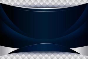fond bleu élégant avec dégradé de vagues