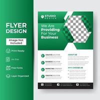 conception de brochure abstraite entreprise