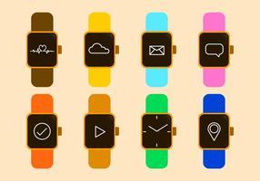 Icône de vecteur de montre intelligente gratuite