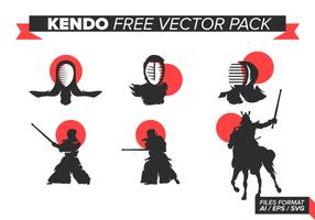 Kendo pack gratuit de vecteur