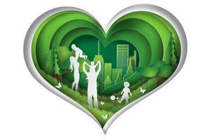 art papier de l'environnement mondial