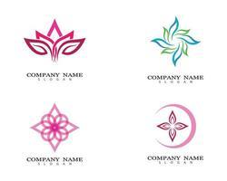 logo d'images de fleur de lotus