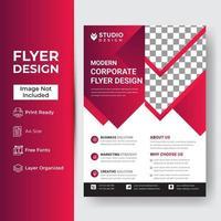 modèle de flyer entreprise et entreprise