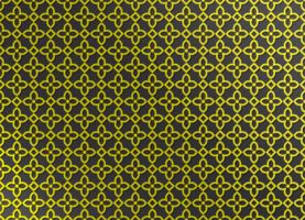 motif arabe de couleur dorée