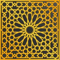 conception arabe ornée traditionnelle