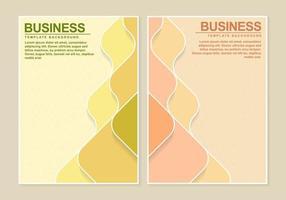 couleur rétro abstraite pour la couverture du livre vecteur