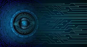 fond de concept de technologie future cyber circuit