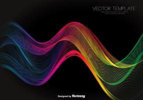 Vecteur spectre abstrait