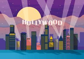 Vecteur lumineux de Hollywood