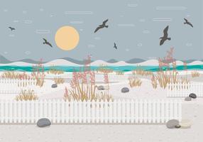 Vector de paysage 2 avoine de mer