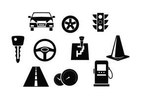 Vecteurs de voiture gratuits vecteur