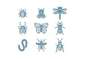 Vecteur d'insectes gratuit