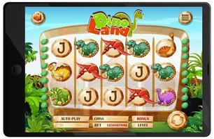 jeu de dinosaures sur écran de tablette