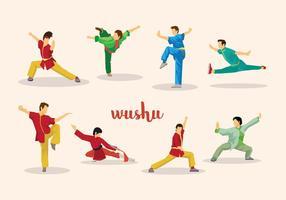 Wushu Vector Gratuit