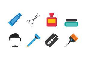 Ensemble d'icônes Barber gratuites