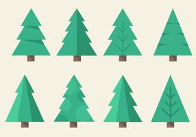 Vecteur arbre de noël gratuit
