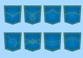 Vecteur de poche bleu bleu gratuit