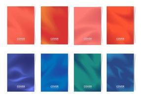 collection de couvertures minimalistes vecteur