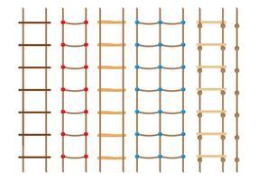 Collection échelle de corde