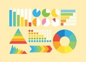 Vector d'icônes d'éléments d'infographie gratuit