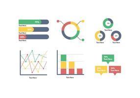 Vecteur de visualisation de données gratuite