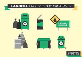 Pack de vecteur libre d'atterrissage Vol. 3
