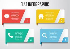 Éléments d'infographie modernes vecteur