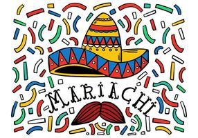 Fond de Mariachi gratuit vecteur